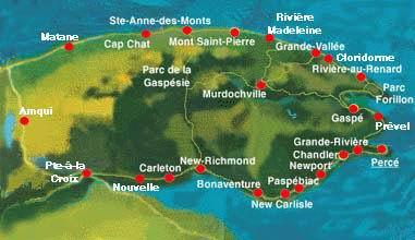 La Gaspésie